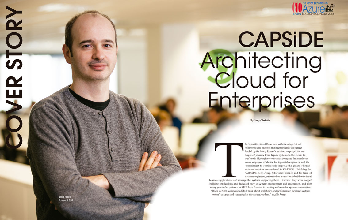 CIO Review - CAPSiDE, architects of the digital society