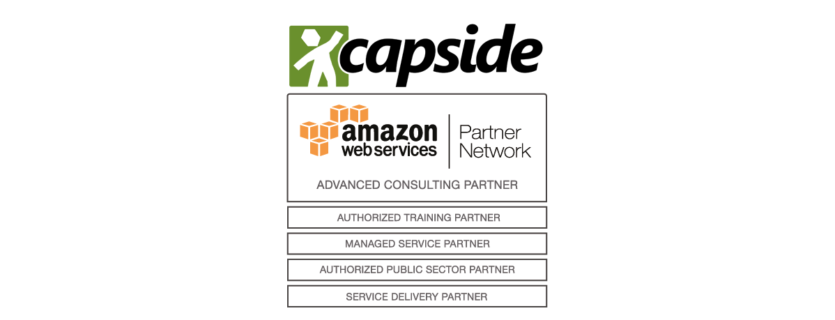 AWS Managed Service - CAPSiDE, architects of the digital society