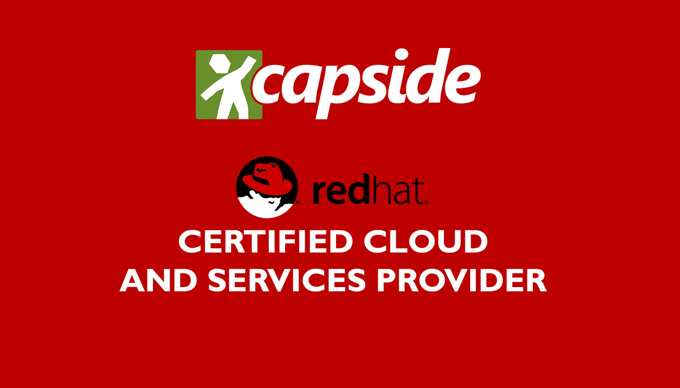 Capside named red hat certified cloud and service provider capside named red hat certified cloud and service provider xflitez Images