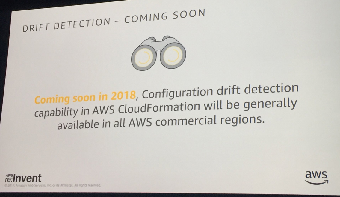 New on AWS - Re:Invent 2017 - CAPSiDE