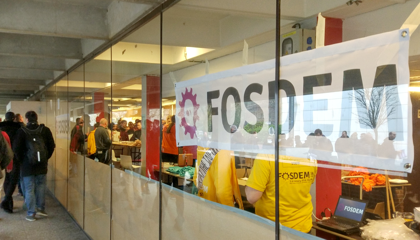 A weekend at Fosdem 2018