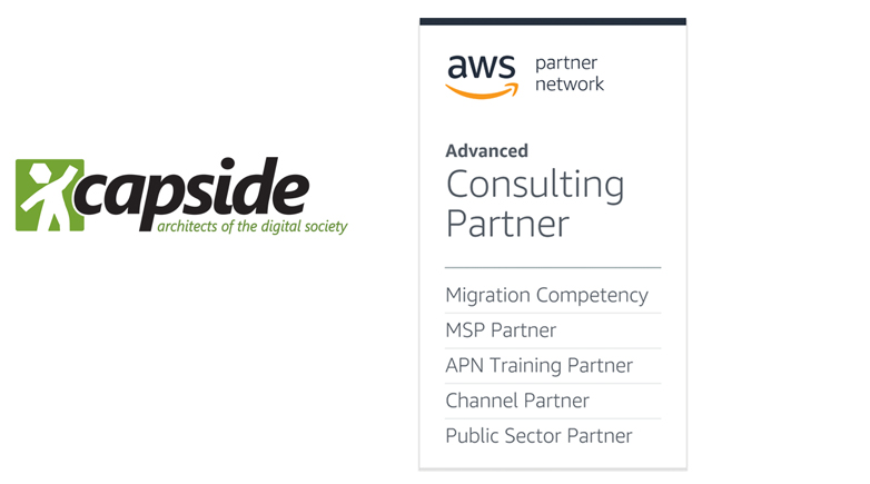 AWS Migration Competency - CAPSiDE, architects of the Digital Society