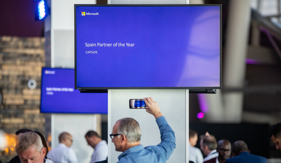 Microsoft's Country Partner of the Year 2019 award - CAPSiDE