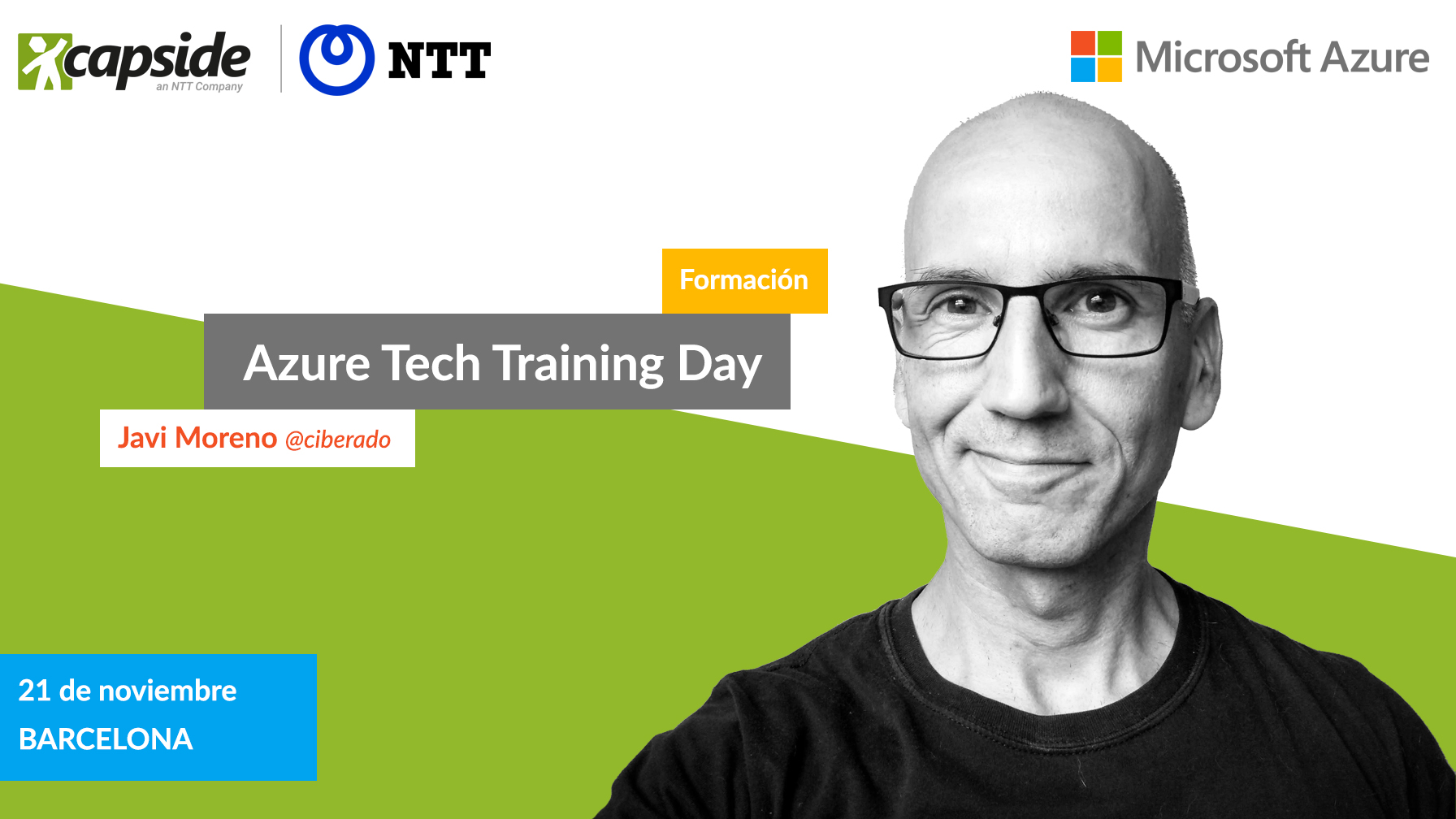 Azure Tech Training Day - CAPSiDE